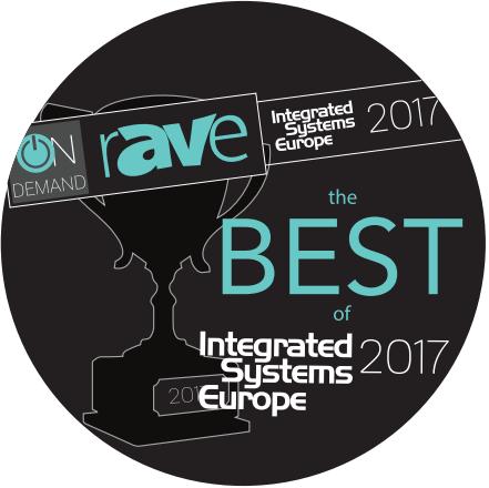 """Vivitek is awarded 4 prizes: """"Best of ISE 2017"""""""