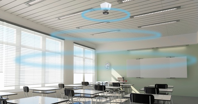 Pentaclass Runa, a system to improve the sound in the classroom