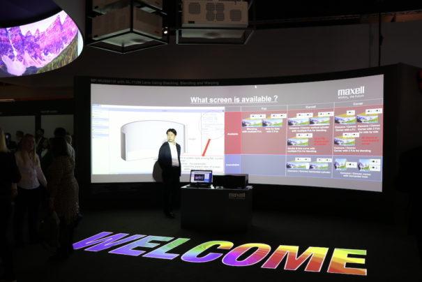 Maxell beteiligt sich nach der Erneuerung seiner Unternehmensstruktur mit einem breiten Angebot an ISE 2020