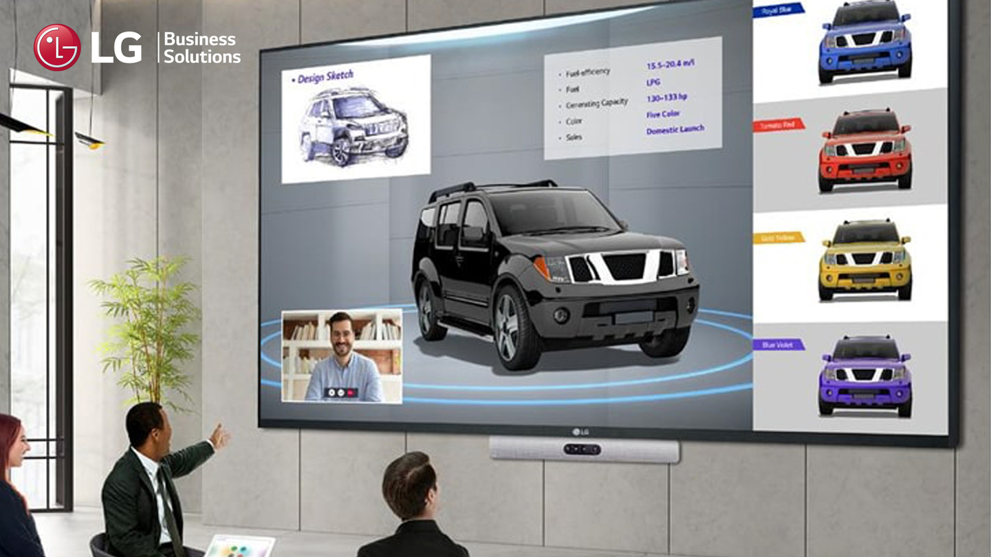LG Business Solutions and Charmex join forces to distribute professional audiovisual solutions