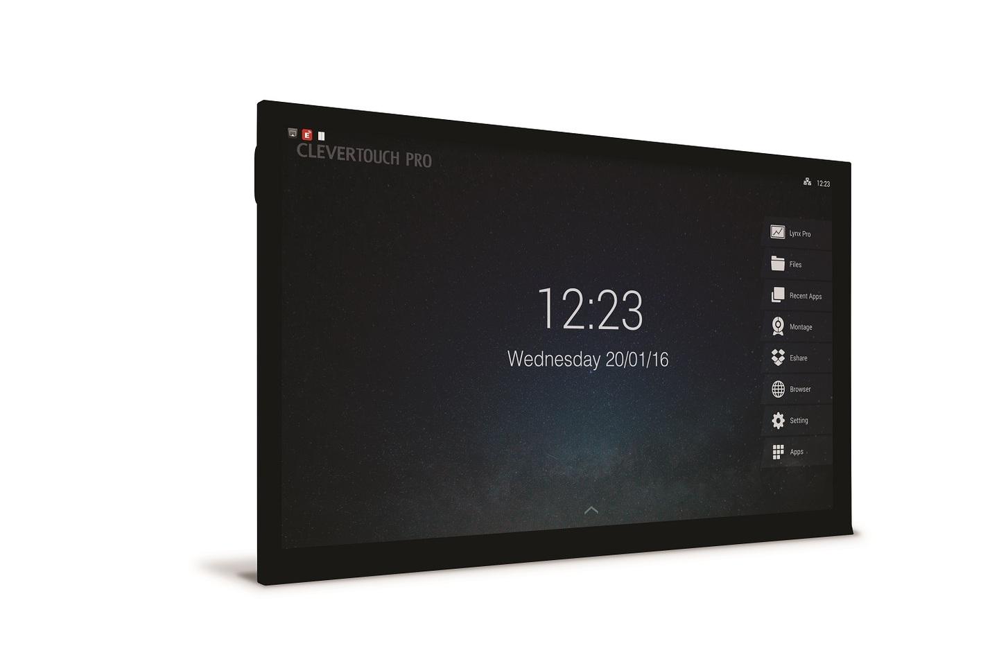 Charmex y Clevertouch ponen al alcance de las empresas monitores multitáctiles de altas prestaciones