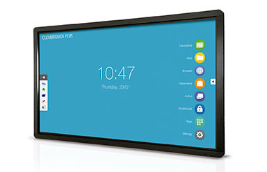 New range of interactive displays Clevertouch Plus LUX
