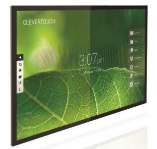 Collaboration and impact presentations with the Clevertouch Pro Capacitor 4K monitor