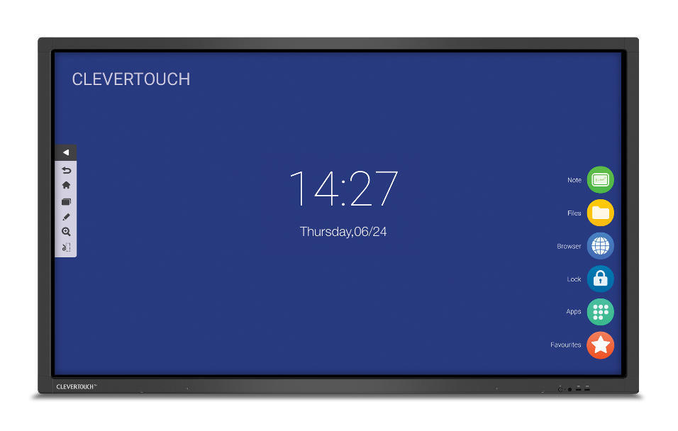 Clevertouch serie V 7.0: monitores interactivos con Android