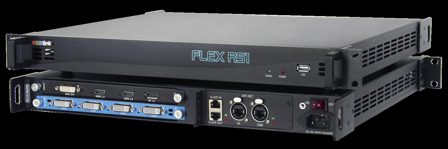 El procesador para rotación y combinación Flex RS1 de RGBlink, ya está disponible en Charmex