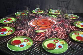Christie ayuda a llevar el mapping a la alta gastronomía madrileña en WeMapping