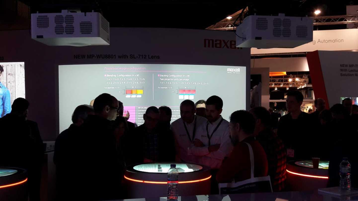 Charmex comercializará en exclusiva la marca de proyección Maxell para España y Portugal  