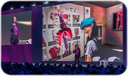 Christie Spyder X80 and Christie Terra manage the largest screen of the Mobile World Congress