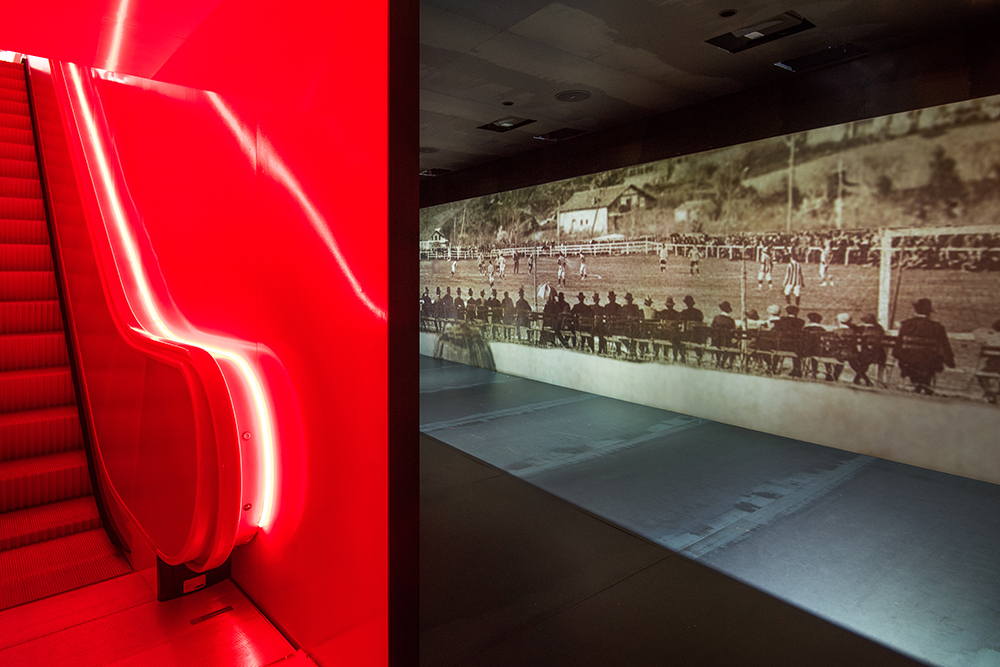 Christie's laser projection captivates the audience of the new Athletic Club museum