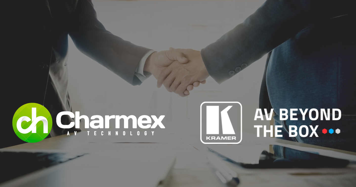 Charmex expands its portfolio in Portugal with Kramer AV solutions