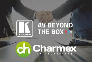 Charmex amplia la seva cartera a Portugal amb solucions AV de Kramer