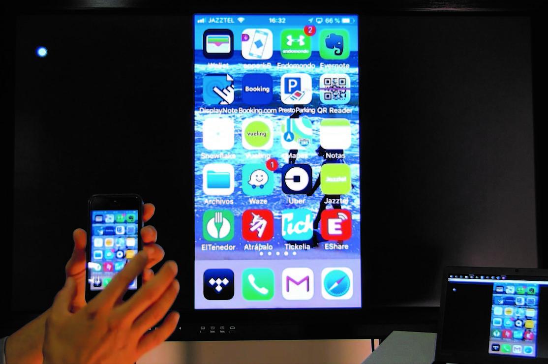 De l'smartphone o portàtil a l'monitor tàctil