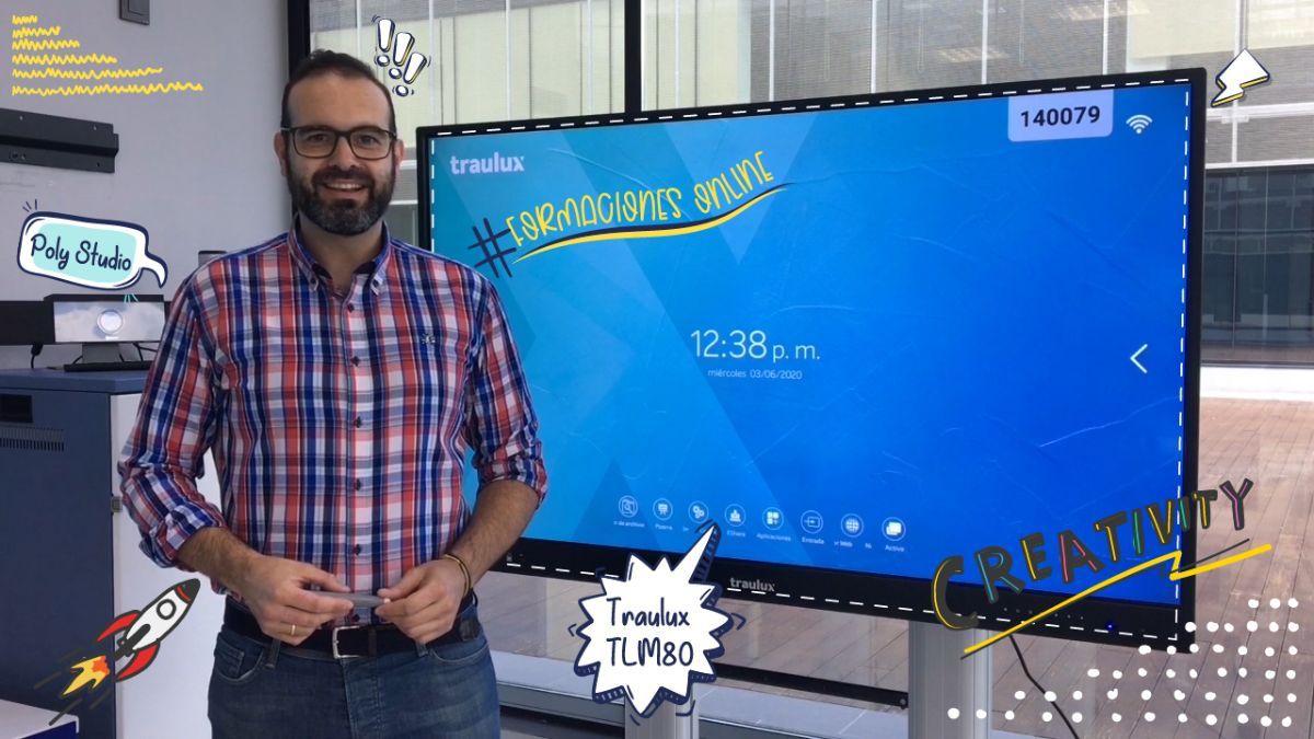 Aprende a utilizar el equipamiento audiovisual de tu aula para dar clases semipresenciales