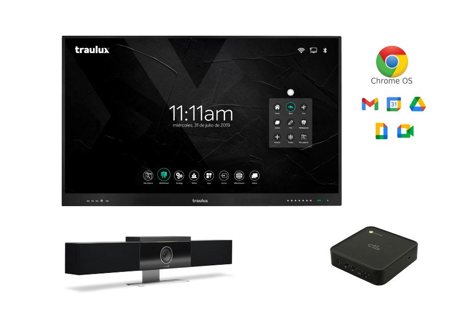 BUNDLE TRAULUX TLM6580-1 + CHROMEBOX + POLY STUDIO_0