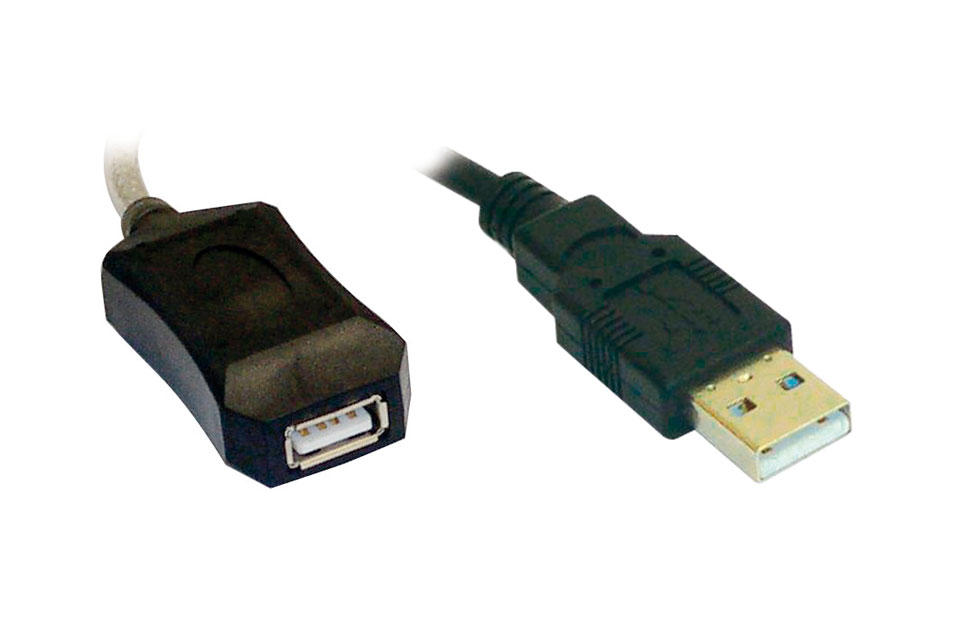 CABLE USB ACTIVO 10 METROS A-A (M-H) (2.0, 480MBPS_0