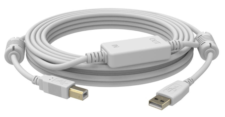 CABLE ACTIVO USB A-B (M/M) 10 METROS_0