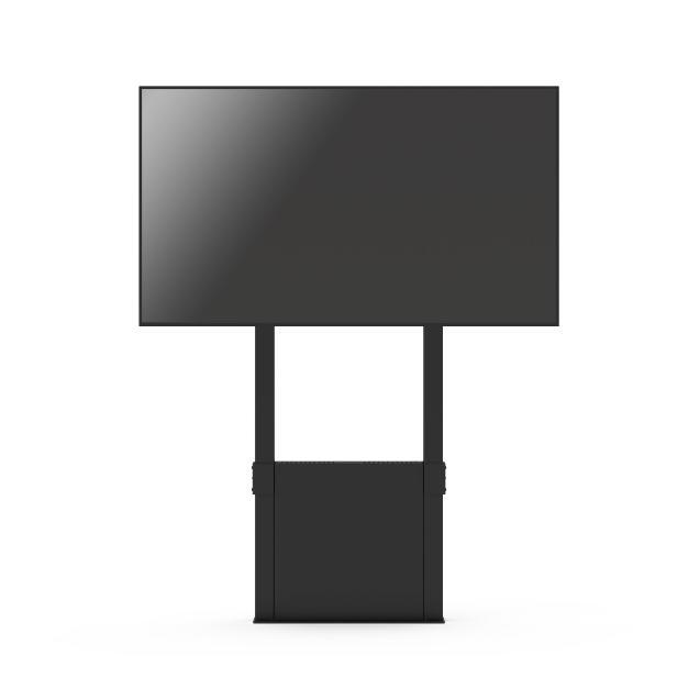 SOPORTE PARA MONITOR DE PARED-SUELO FUNC WALL_FLOOR PARA CLEVER 86 800X600 mm NEGRO_0