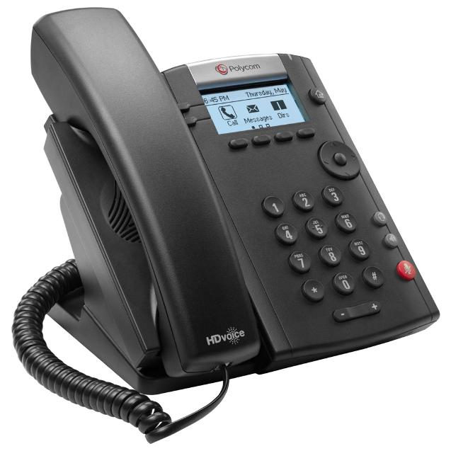 VVX 201 2-LINE DESKTOP PHONE WITH DUAL10/100 ETHER_0