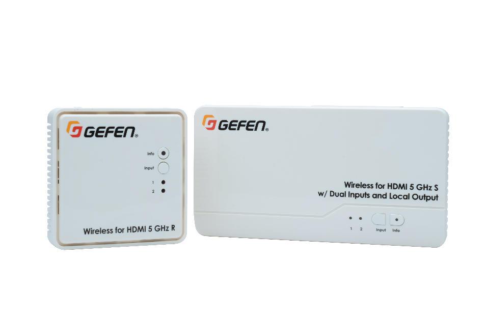 GEFEN WIRELESS HDMI 5 GHz LR 30 METROS_0