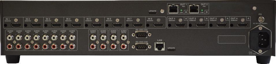 MULTI SWITCHER HDMI 8x4 + 2xHDBASET_0