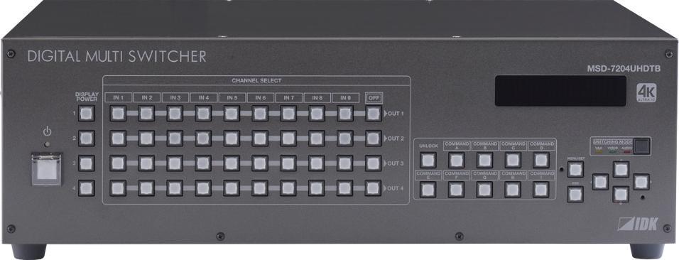MULTI SWITCHER 7x4 4K (60 Hz 4:4:4)_0