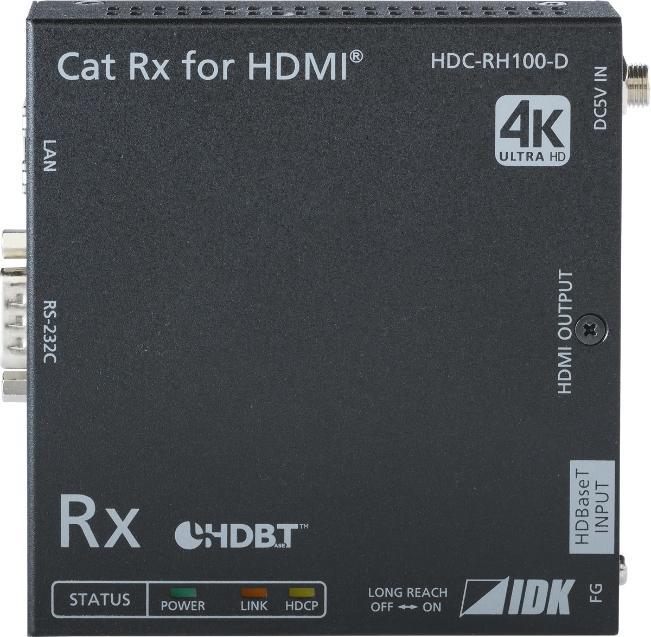 IDK RECEPTOR HDMI HDBASET 100 M + RS-232 & ETHERNET_0
