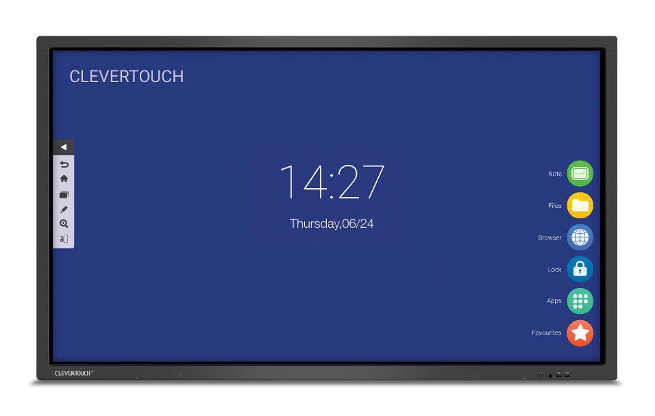 "MONITOR CLEVERTOUCH V 4K ANDROID 7.0 86""_0"