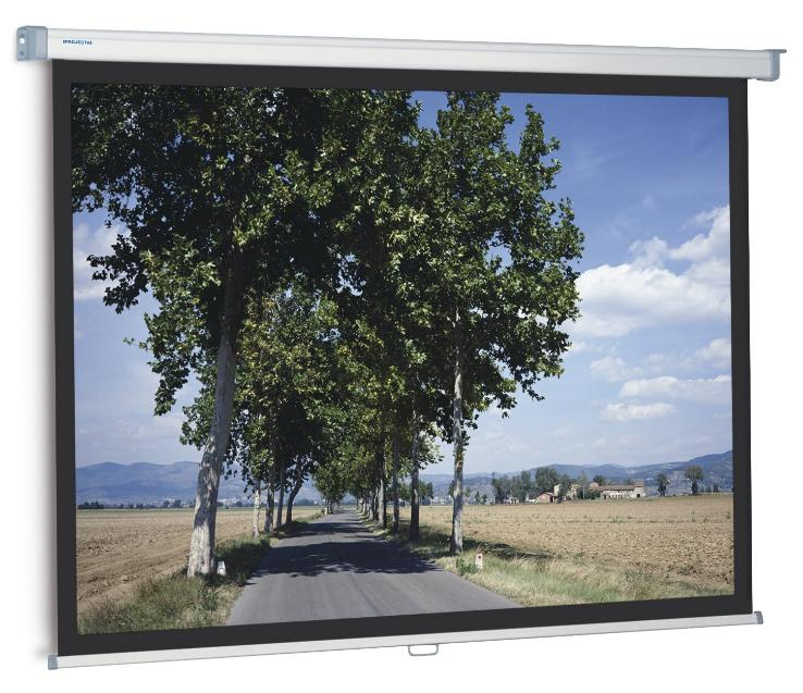 PANTALLA MANUAL PROJECTA SLIMSCREEN 160x160 cm 1:1 CON BORDES NEGROS_0