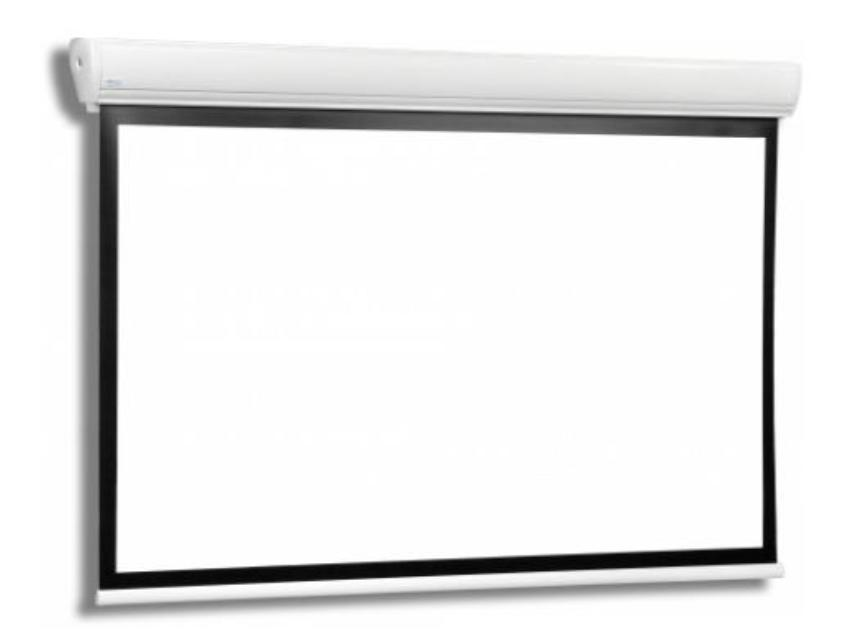PANTALLA ELECTRICA TRAULUX STRATUS2 300x173 cm 16:9 MATTE WHITE BORDES NEGROS+MANDO RF_0