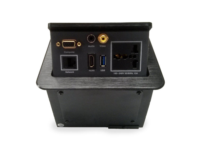 TABLEBOX 301 (HDMI, VGA, RJ-45, USB, VIDEO, AUDIO)_0