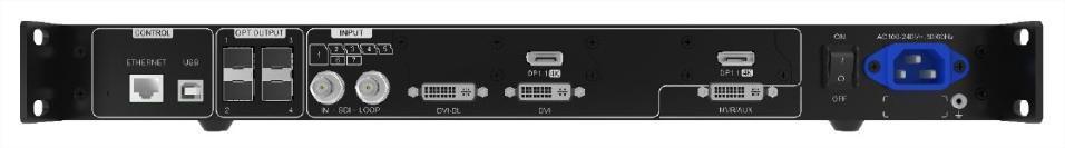 EXPANSOR INPUTS N9:1XSDI 1XDVI-DL 1XDVI-SL 2XDP1.1_0